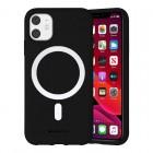 Husa Goospery Color MagSafe Apple iPhone 12 [Black]
