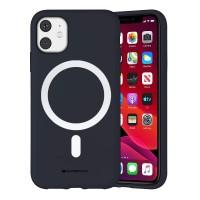 Husa Goospery Color MagSafe Apple iPhone 12 [Navy]