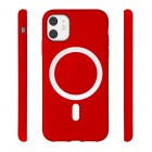 Husa Goospery Color MagSafe Apple iPhone 12 [Red]
