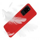 Husa Goospery Mercury Soft Feeling Samsung Galaxy S20 Ultra [Red]