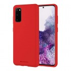 Husa Goospery Mercury Soft Feeling Samsung Galaxy S20 [Red]