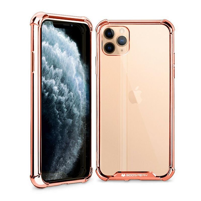 Husa Goospery Mercury Wonder Protect Apple iPhone 11 Pro Max [Rose-Gold]