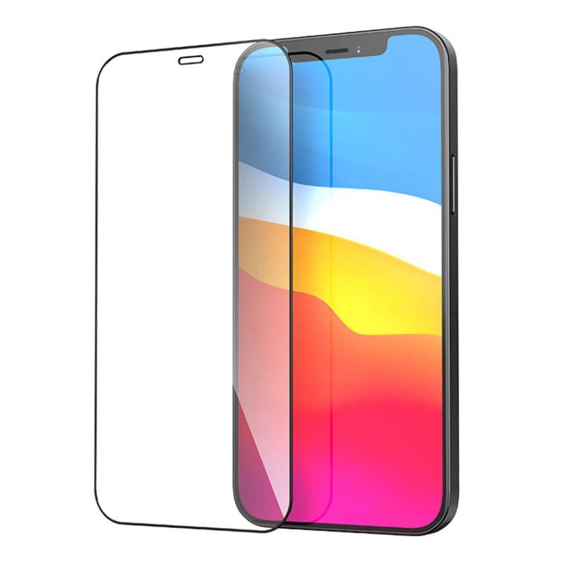 Sticla protectoare Hoco Nano A12 (3D) Apple iPhone 12 Pro Max [Black]