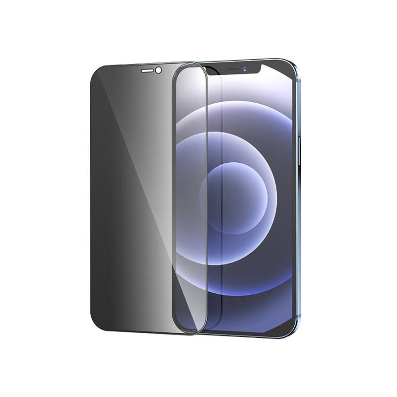 Sticla protectoare Hoco A21 Anti-Spy (3D) Apple iPhone 12 mini [Black]