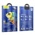 Sticla protectoare Hoco A21 Anti-Spy (3D) Apple iPhone 12 Pro Max [Black]