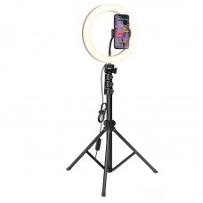Monopod difuzare în flux Hoco LV02 Aesthetic Light [Black]