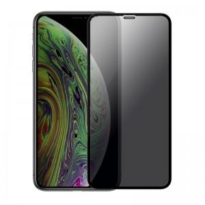 Sticla protectoare Screen Geeks Apple iPhone 11 Anti-Spy All Glue [Black]