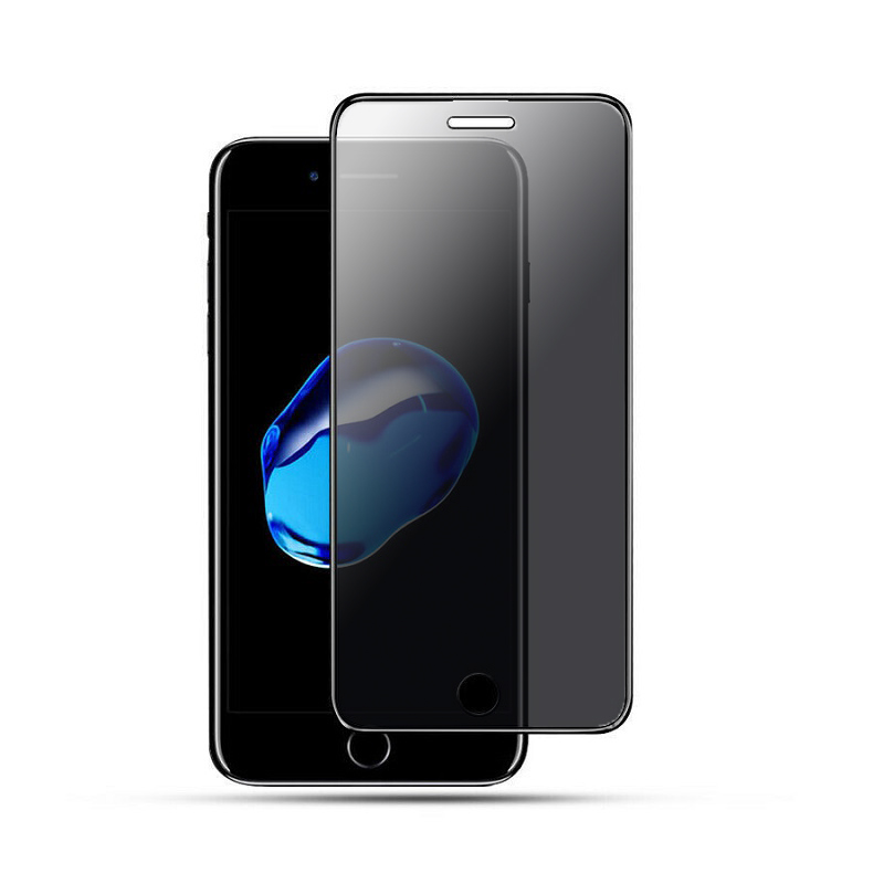 Sticla protectoare Apple iPhone SE 2020 Anti-Spy Screen Geeks All Glue [Black]