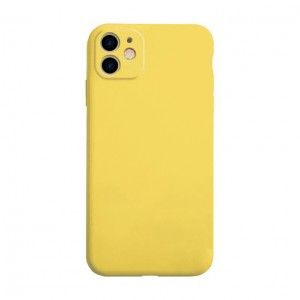 Husa Screen Geeks Soft Touch Apple iPhone 12 [Yellow]