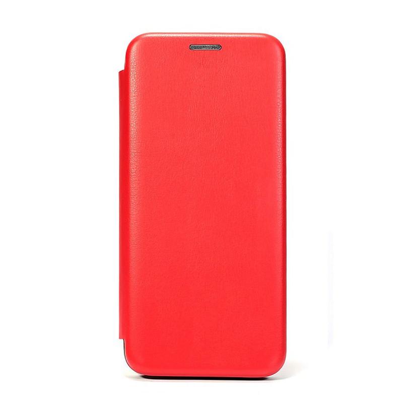 Husa Screen Geeks Flip Xiaomi Redmi Note 9S [Red]