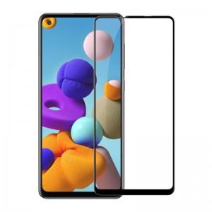Защитное стекло Samsung Galaxy A21s Screen Geeks 4D [Black]