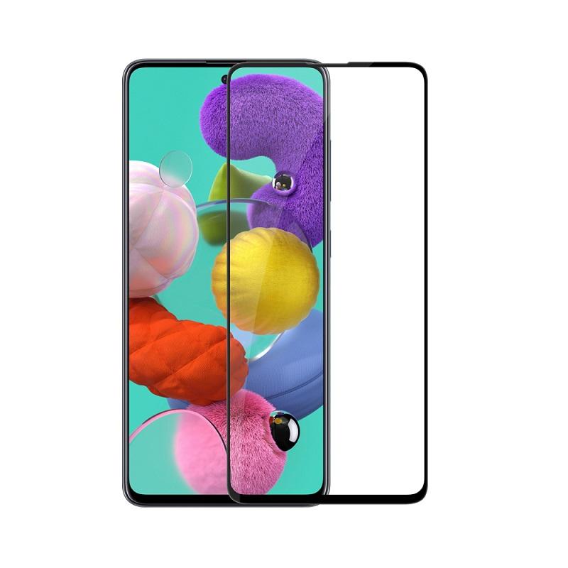 Sticla protectoare Samsung Galaxy A52 Screen Geeks 4D [Black]