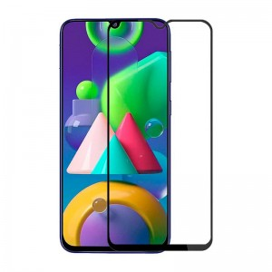 Защитное стекло Samsung Galaxy M21 Screen Geeks 4D [Black]