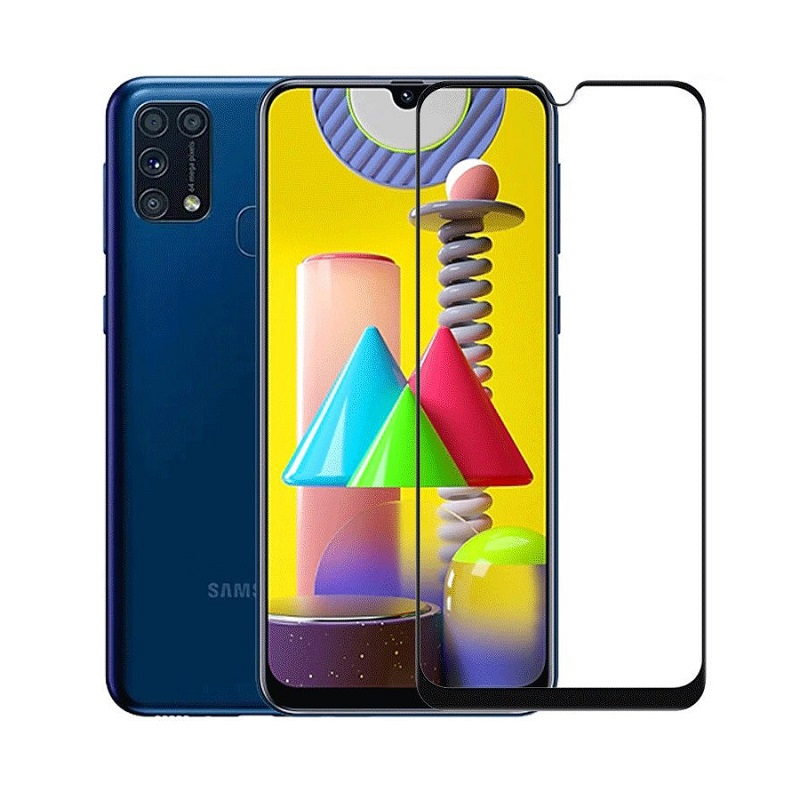 Sticla protectoare Samsung Galaxy M31 Screen Geeks Full All Glue [Black]