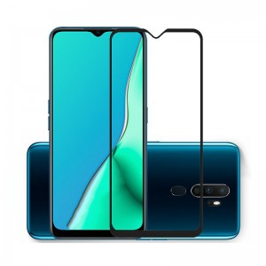 Защитное стекло Oppo A9 (2020) Screen Geeks 4D [Black]