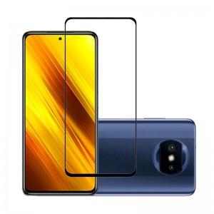 Защитное стекло Xiaomi Poco X3 Screen Geeks Full All Glue [Black]
