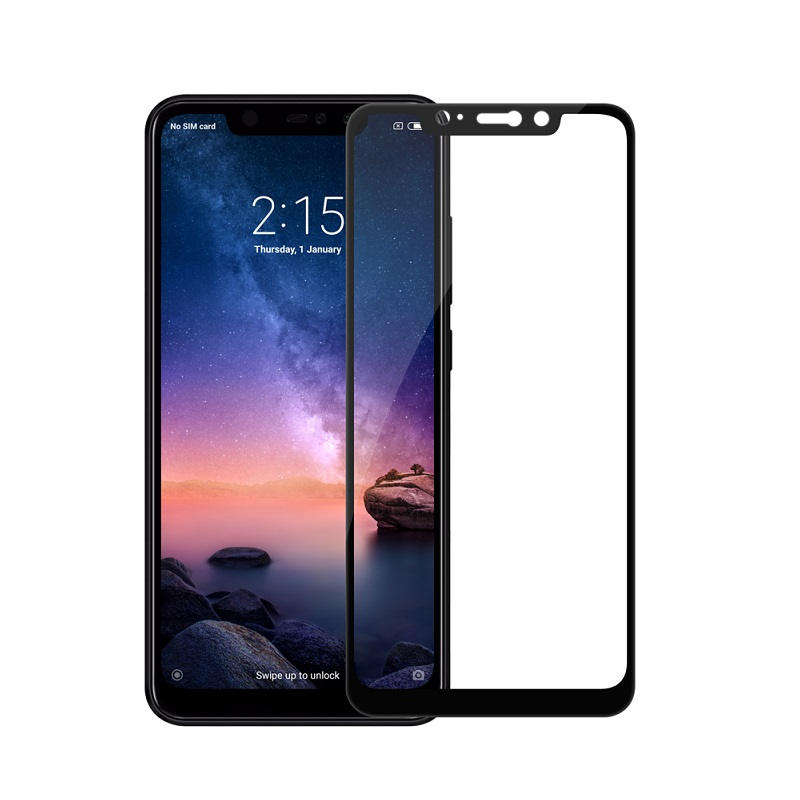 Защитное стекло Xiaomi Redmi Note 6 Pro Screen Geeks 4D [Black]