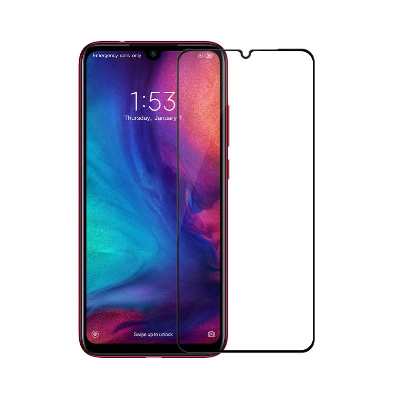 Sticla protectoare Xiaomi Redmi Note 7 Screen Geeks 4D [Black]