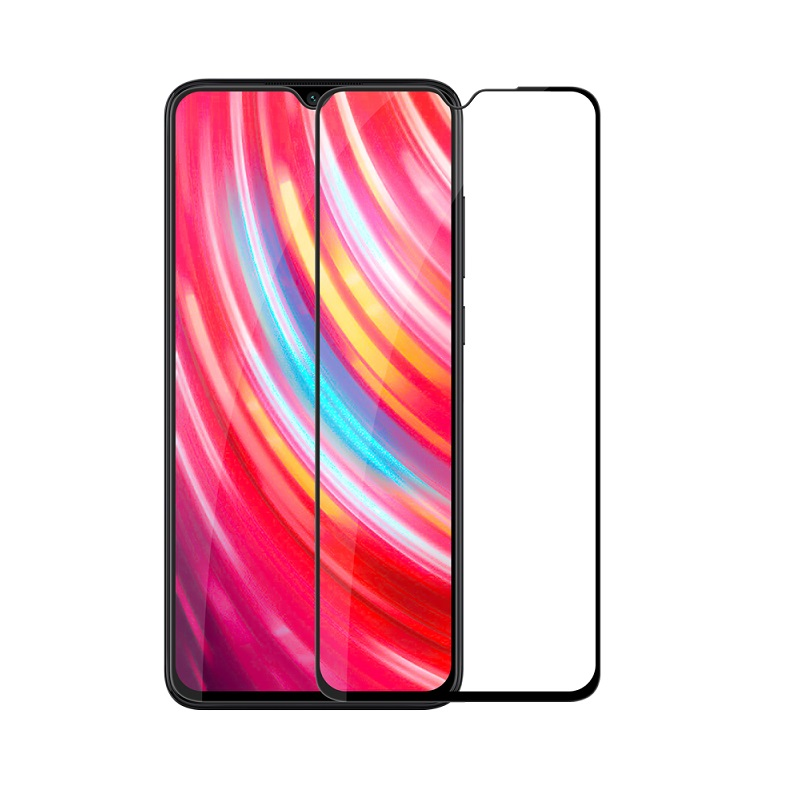 Защитное стекло Xiaomi Redmi Note 8 Pro Screen Geeks 4D [Black]
