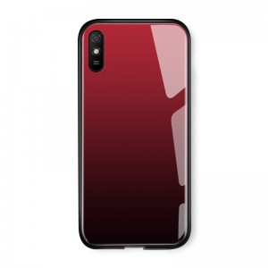 Husa Screen Geeks Glaze Xiaomi Redmi 9A [Red-Black]