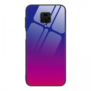 Husa Screen Geeks Glaze Xiaomi Redmi Note 9S [Blue-Pink]