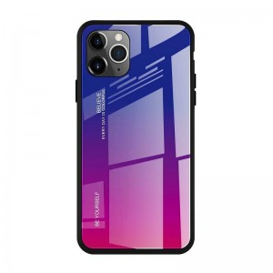 Чехол Screen Geeks Glaze Apple iPhone 11 Pro Max [Blue-Pink]