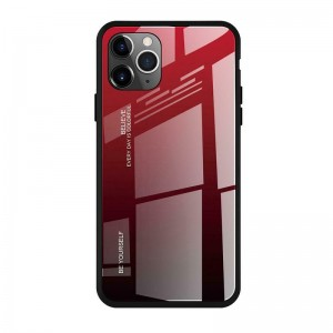 Чехол Screen Geeks Glaze Apple iPhone 11 Pro Max [Red-Black]
