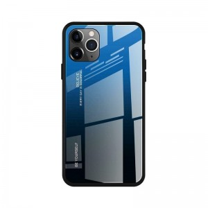 Чехол Screen Geeks Glaze Apple iPhone 11 Pro [Blue-Black]