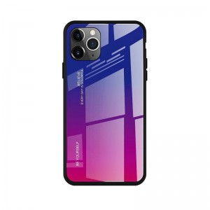 Чехол Screen Geeks Glaze Apple iPhone 11 Pro [Blue-Pink]