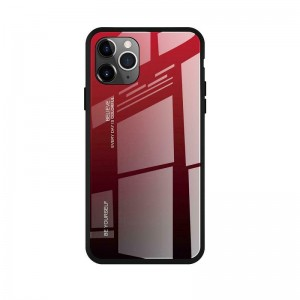 Чехол Screen Geeks Glaze Apple iPhone 11 Pro [Red-Black]