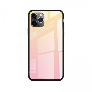 Чехол Screen Geeks Glaze Apple iPhone 11 Pro [Yellow-Pink]