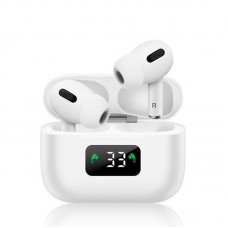 Casti TWS Screen Geeks AirPods Pro (with digital display) [White]