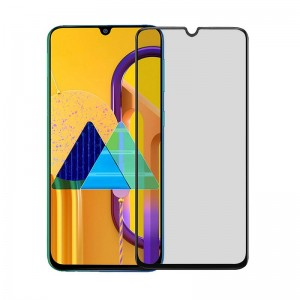 Защитное стекло Screen Geeks Samsung Galaxy M30S Matte All Glue [Black]
