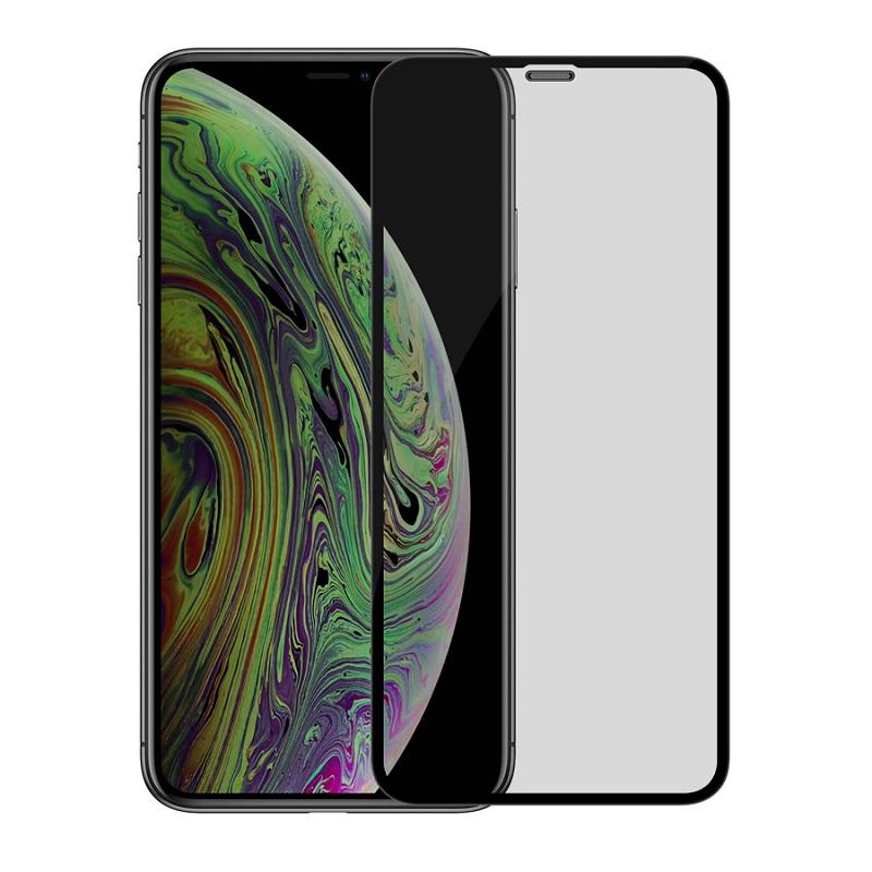 Sticla protectoare Screen Geeks Apple iPhone XR Matte All Glue [Black]