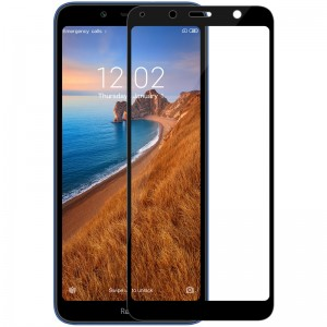 Защитное стекло Xiaomi Redmi 7A Screen Geeks 4D [Black]