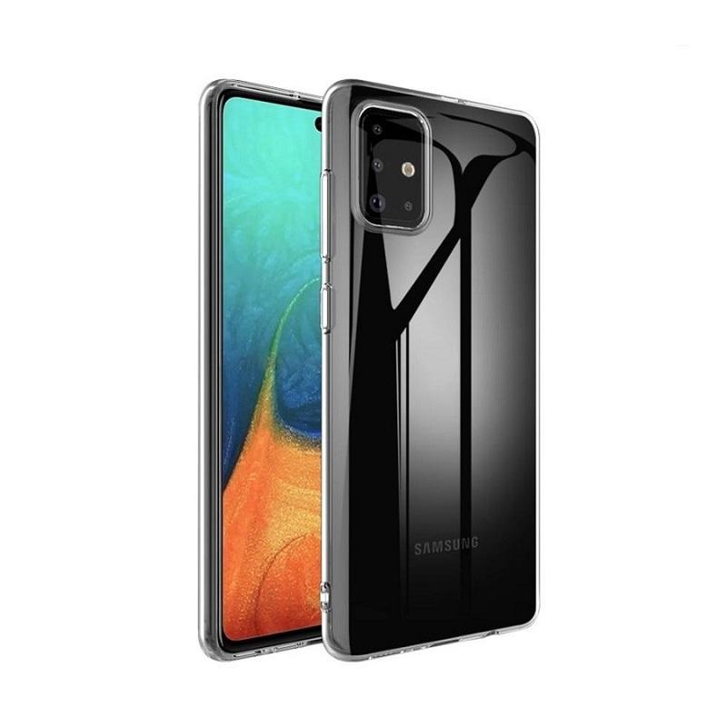 Husa Screen Geeks Tpu Ultra Thin Samsung Galaxy M51 [Transparent]