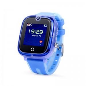 Детские часы с GPS Wonlex KT07 (IP67 & Camera) [Blue]
