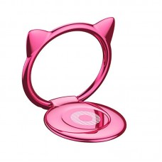 Baseus Cat Ear Ring Bracket (Pink)