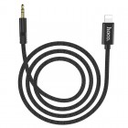 Cablu Hoco UPA13 Lightning to 3.5mm Jack AUX (1m) [Black]