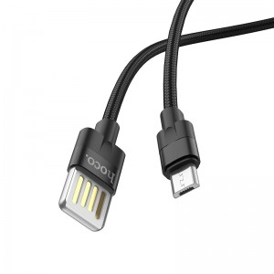 Cablu Hoco U55 Outstanding MicroUSB (Black)