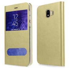 Husa pentru Samsung Galaxy J4 2018 Screen Geeks View Gold