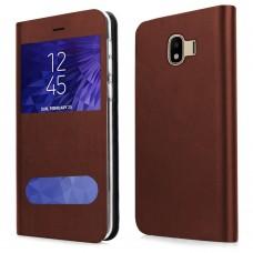 Husa pentru Samsung Galaxy J4 2018 Screen Geeks View Brown