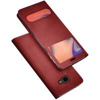 Husa pentru Samsung Galaxy J4 Plus 2018 Screen Geeks View Red