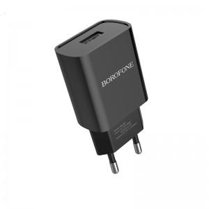 Incarcator de retea Borofone BA20A Sharp (2.1A) [Black]