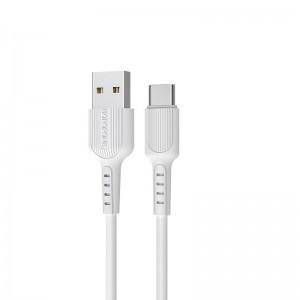Cablu Borofone BX16 Easy Type-C (1m) [White]