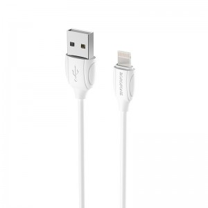 Cablu Borofone BX19 Benefit Lightning (1m) [White]