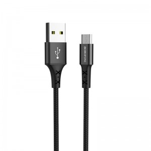 Cablu Borofone BX20 Enjoy MicroUSB (1m) [Black]