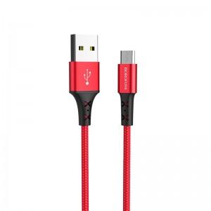 Кабель Borofone BX20 Enjoy MicroUSB (1м) [Red]