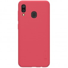 Husa Nillkin Frosted Shield for Samsung Galaxy A30 (Red)