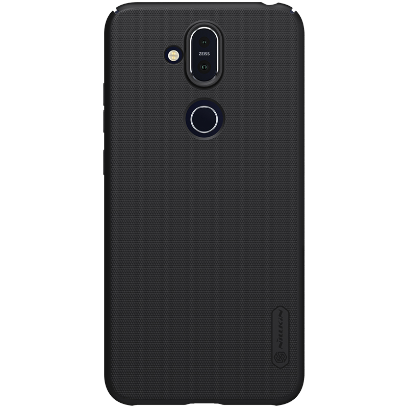 Husa Nillkin Frosted Shield for Nokia 8.1 / X7 (Black)